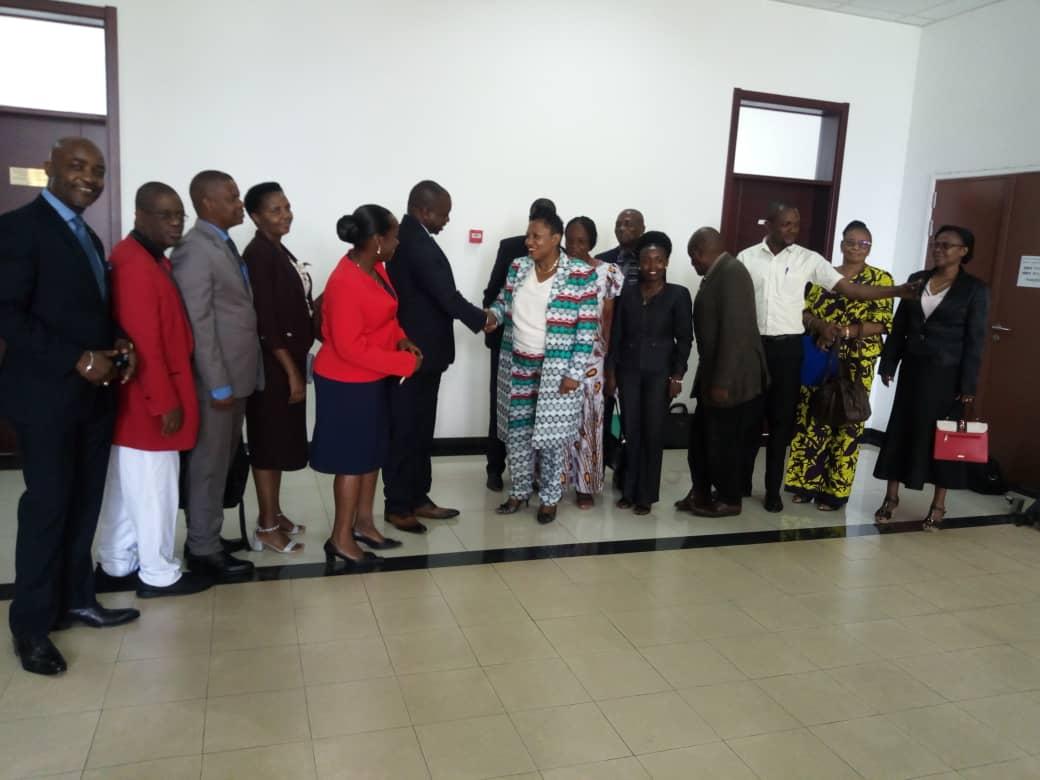 Photo of Violences sexuelles basées sur le genre: une délégation burundaise chez la Conseillère spéciale du chef de l'Etat en charge de la jeunesse et la lutte contre les violences faites a la femme Chantal Yelu Mulop
