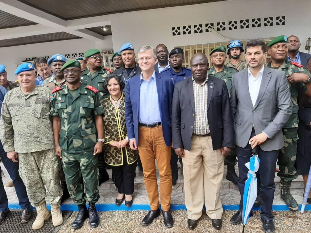 Photo of Jean-Pierre Lacroix à la population de Beni : «Il ne faut pas se tromper d'ennemis. Les ennemis sont ceux qui tuent et empêchent les équipes de riposte de protéger contre Ebola»