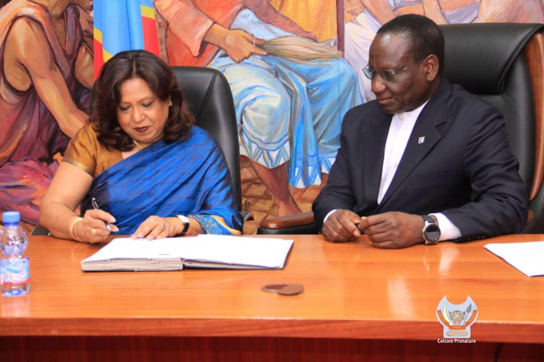 Photo of Lutte contre les violences faites aux femmes : un addendum signé entre Kinshasa et l'ONU